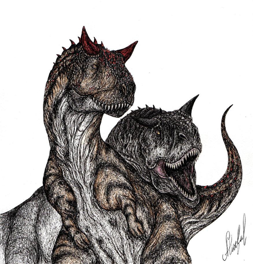 Carnotaurus sastrei by Aliveful