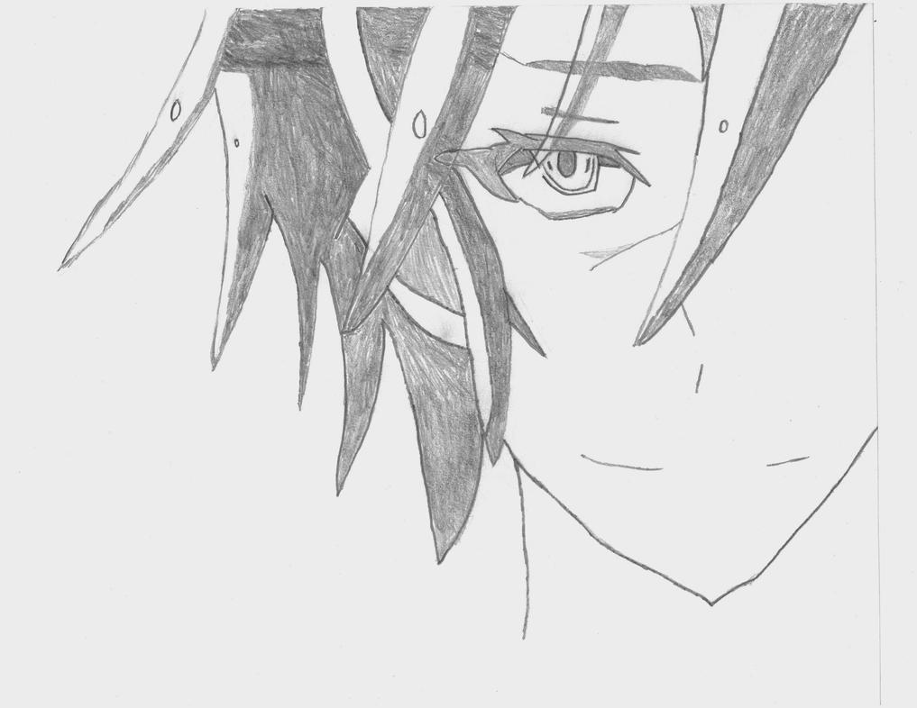 Drawing Of Sora From No Game No Life By Kiokera-kazae On
