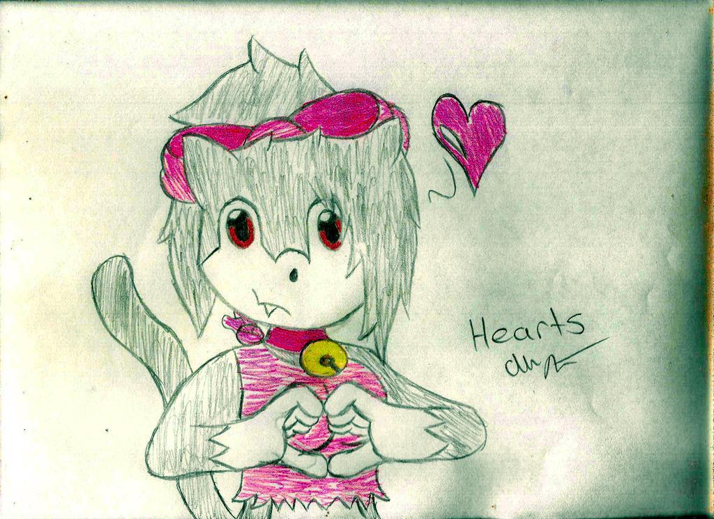 Hearts X3 by adrummaster