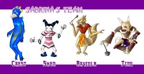 Sabrina's Team by Katie-Yoshi