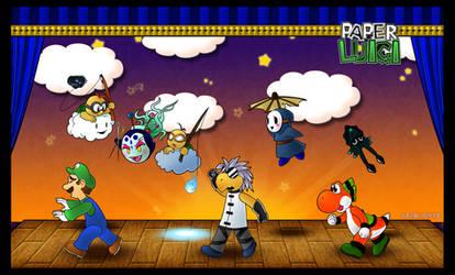 Paper Luigi by Katie-Yoshi