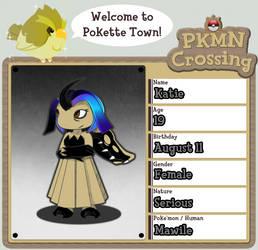 PKMN Crossing - Katie by Katie-Yoshi