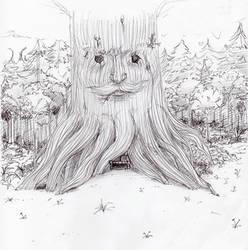 Deku Tree Temple by Katie-Yoshi