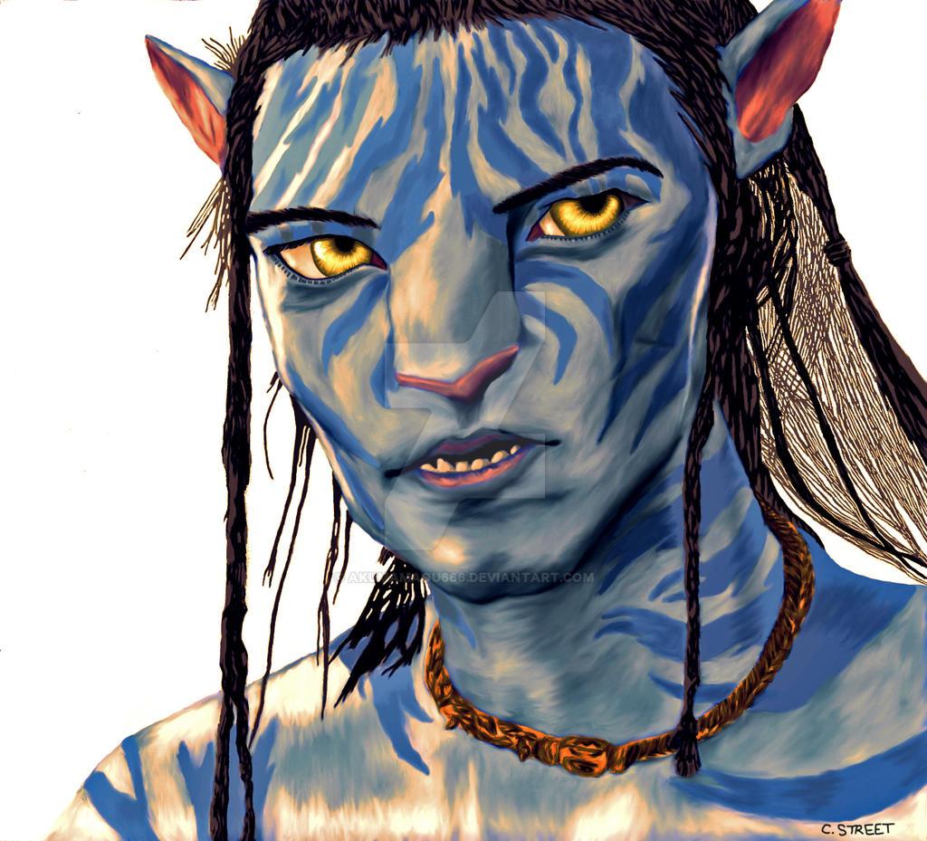 Avatar: Jake Sully_Colored By AkumaMaou666 On DeviantArt