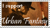 Urban Fantasy Stamp by DarkJediPrincess