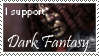 Dark Fantasy Stamp by DarkJediPrincess
