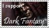 Dark Fantasy Stamp by DarkJediPrincess