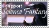 Science Fantasy Stamp by DarkJediPrincess