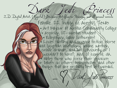 DarkJediPrincess's Profile Picture