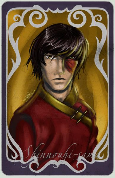 Muse Card: Shinnouhi-sama by DarkJediPrincess
