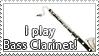 STAMP: Bass Clarinetist 02 by DarkJediPrincess