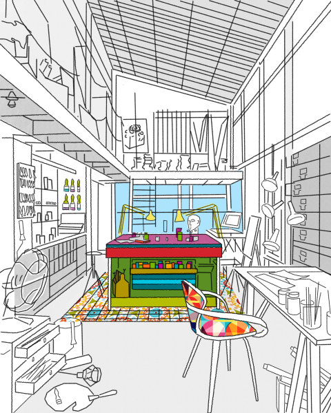 Dream Studio by suzbro