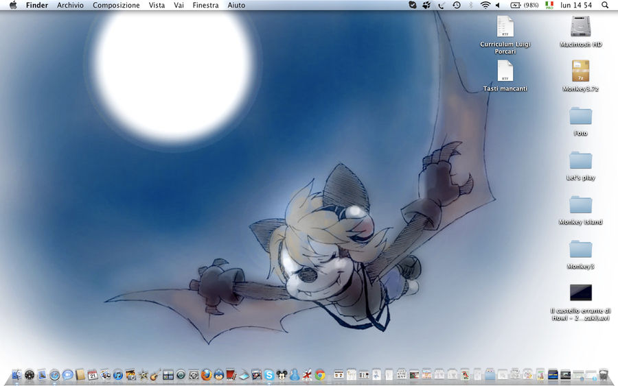 My Desktop mew!