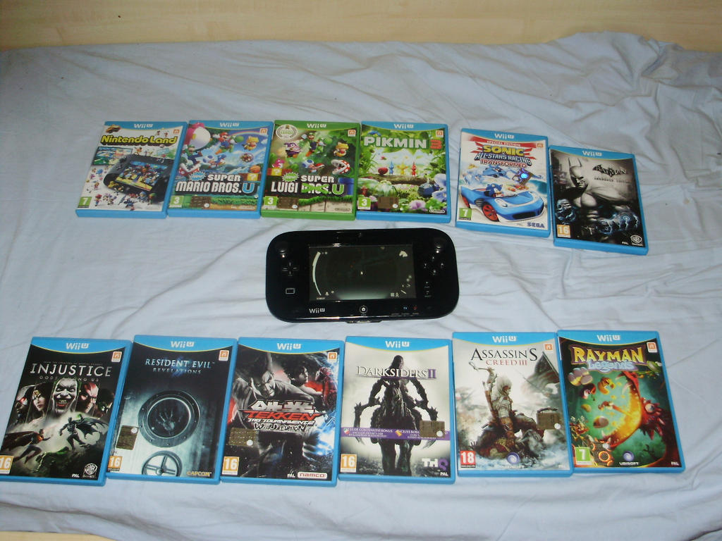 Wii U Games 2013 : My wii u games by zenox furry man on deviantart
