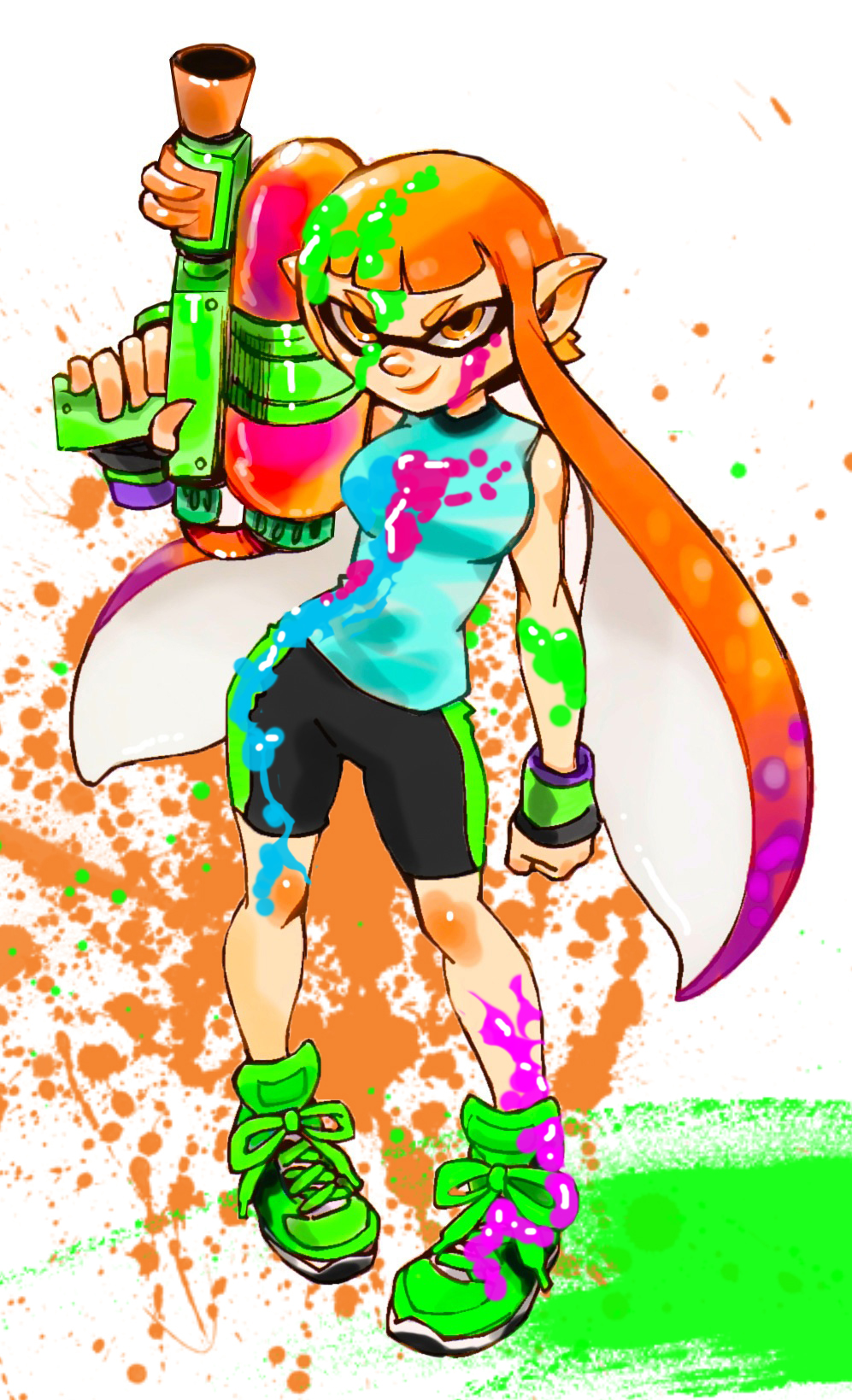 Topic des fanarts Nintendo  - Page 36 New_ip_nintendo__splatoon__ink__by_zenox_furry_man-d7mc9bi