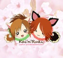 Kai'n'Ruki by charist-JuLz