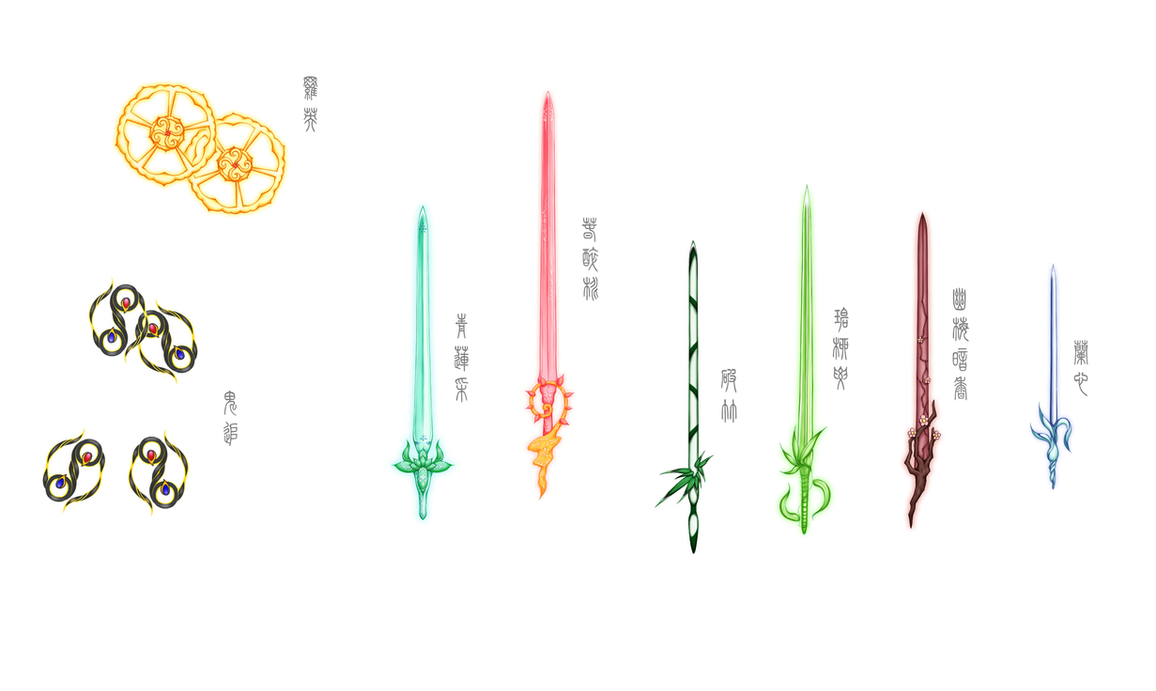 Chinese Weapon Design by D-Daisy