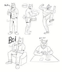Some poses of Maze