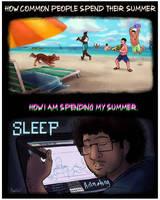 Their Summer vs My Summer
