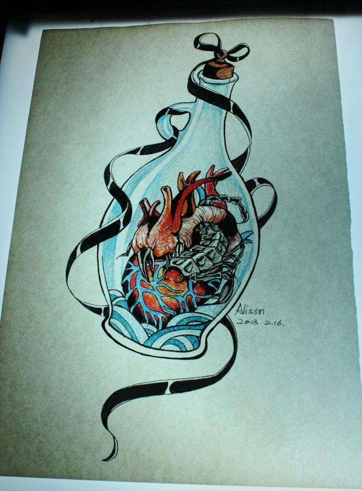 scorpio aquarius tattoo design by pingguotou1119 on deviantart. Black Bedroom Furniture Sets. Home Design Ideas
