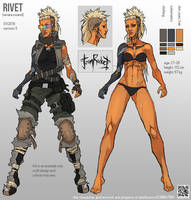 Reference sheet: Rivet by Mishkatron