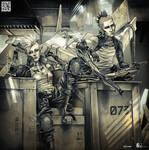 Trash cyborgs