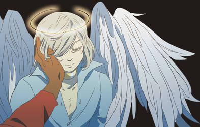 angel au by licchan