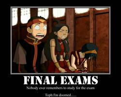 Final Exams Avatar by jerichojim