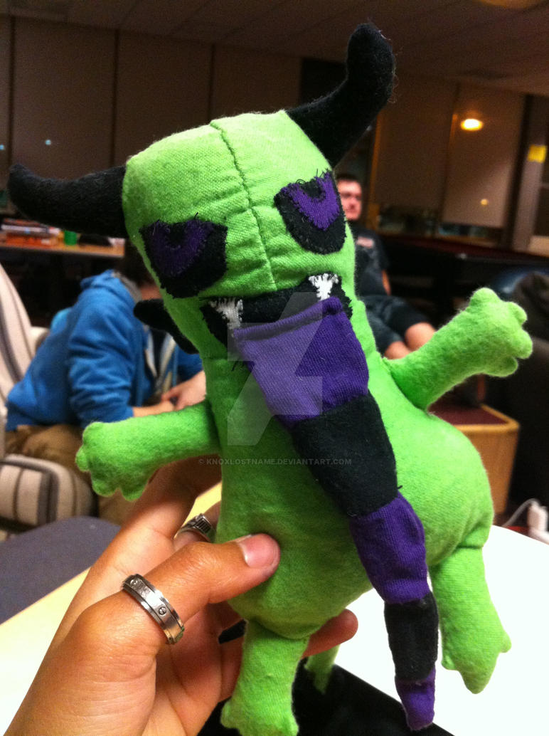 14a293ecdbe7 gremlin stuffed animal thing by KnoxLostname on DeviantArt