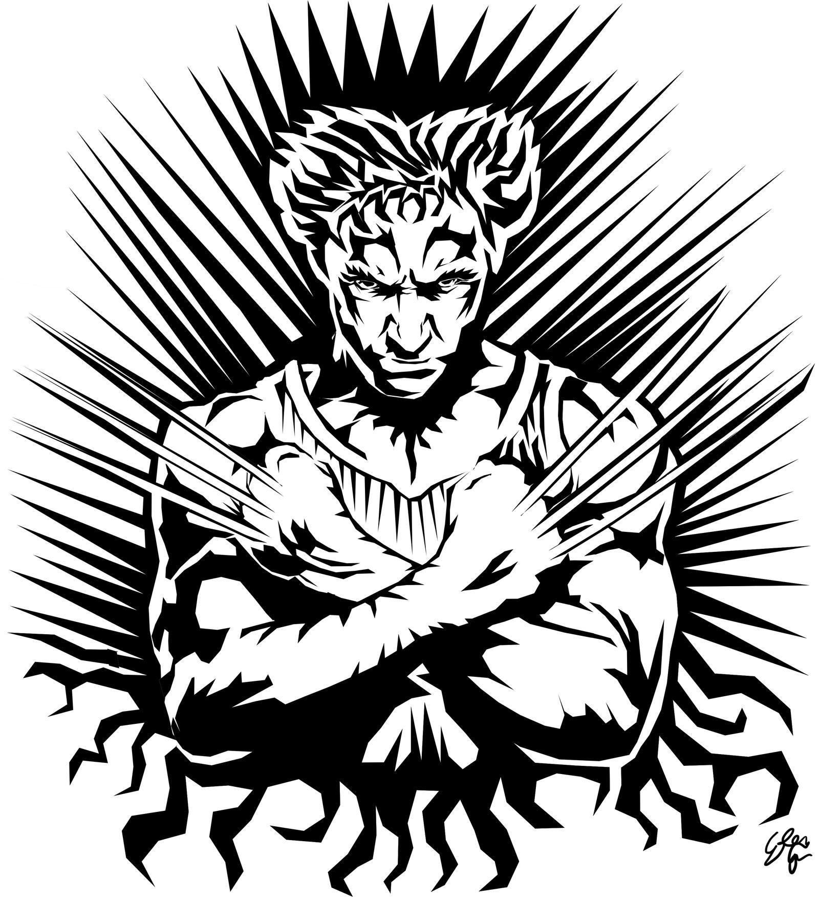 wolverine tattoo by zorganith on deviantart. Black Bedroom Furniture Sets. Home Design Ideas