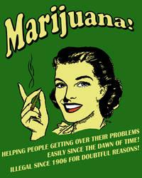 marijuana poster by drgutman