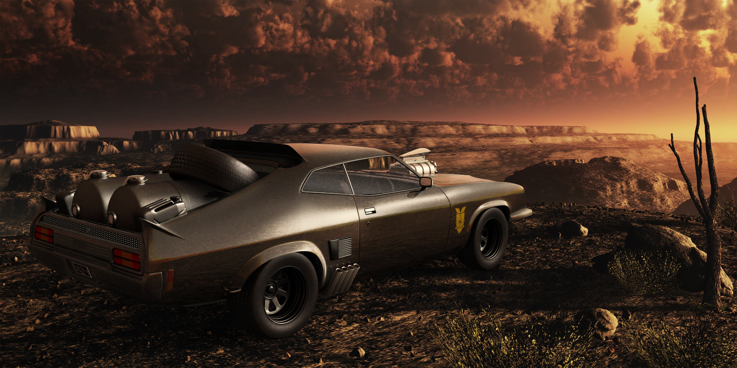 Mad Max Last V8 by theuni