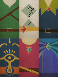 Skyward Sword Minimalistic posters