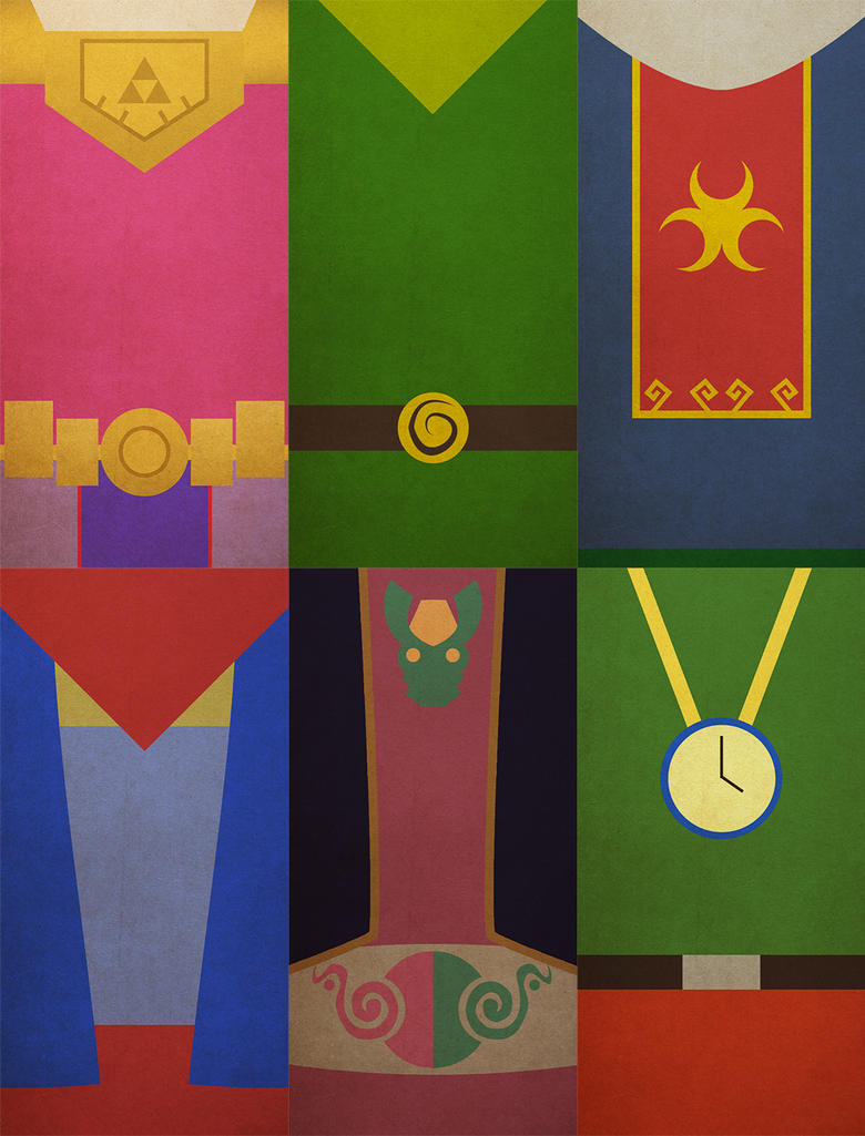 Minimalist Classroom Zelda ~ Zelda wind waker minimalistic posters by lillian on