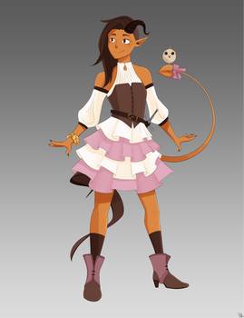 Lucy: Tiefling Bard