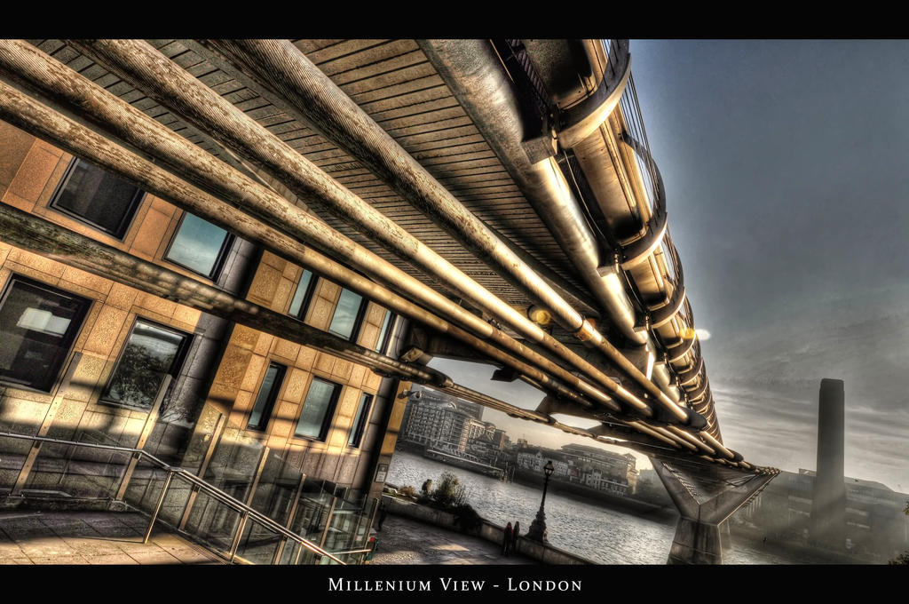Millenium View London HDR by nat1874