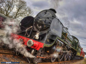 King Arthur Class Locomotive HDR
