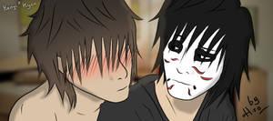 Kenji x Kyan - Hehe, you blush ?
