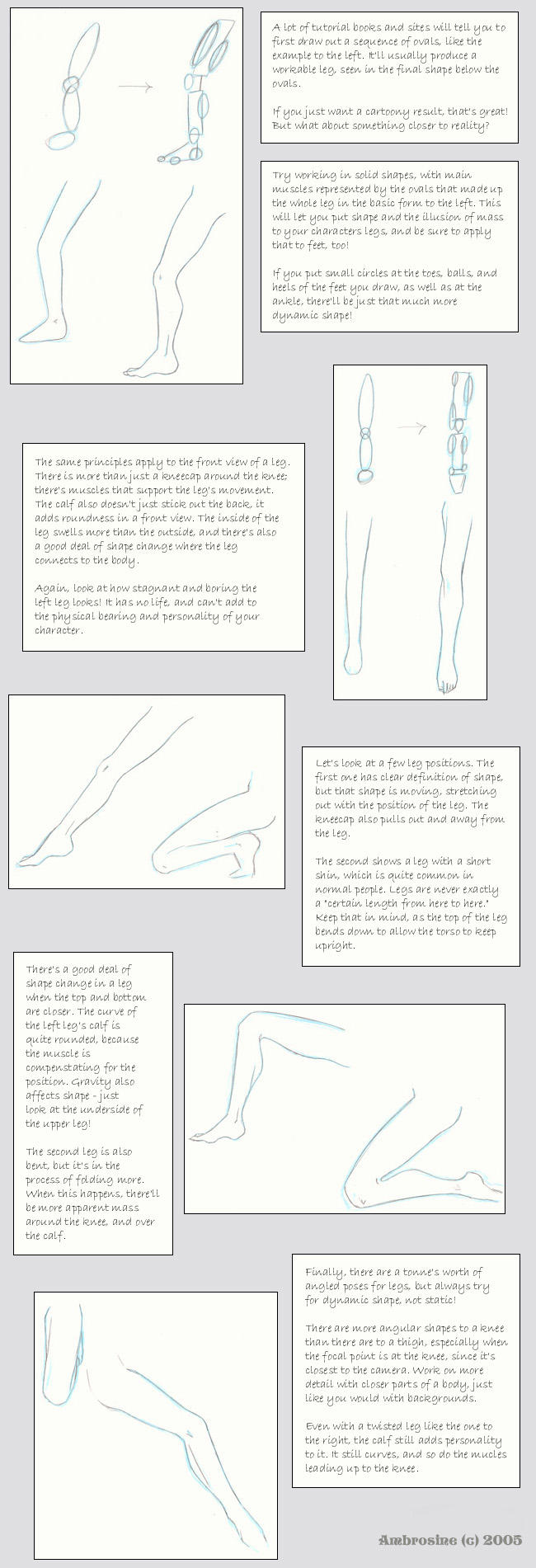 Leg drawing pointers by Heidhra