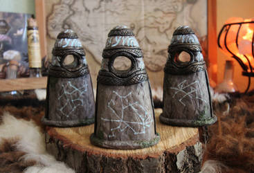 Standing Stones of Skyrim - The Three Guardians
