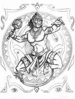 The Mighty Hanuman by DJNebulous