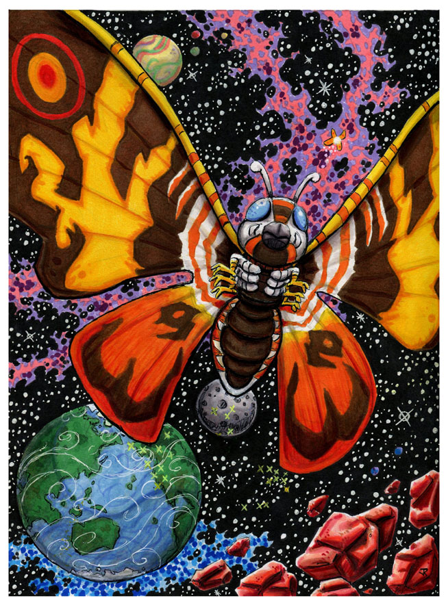 Sayonara, Mothra by JRtheMonsterboy