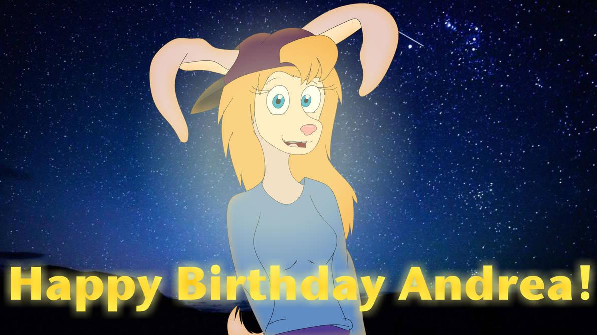 Happy Birthday Andrea! by Bronson365