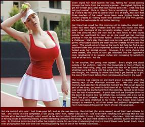 The Old Tennis Try (FabricSofteneer)