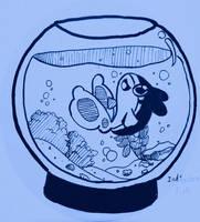 Inktober 2020 day 01 - Fish