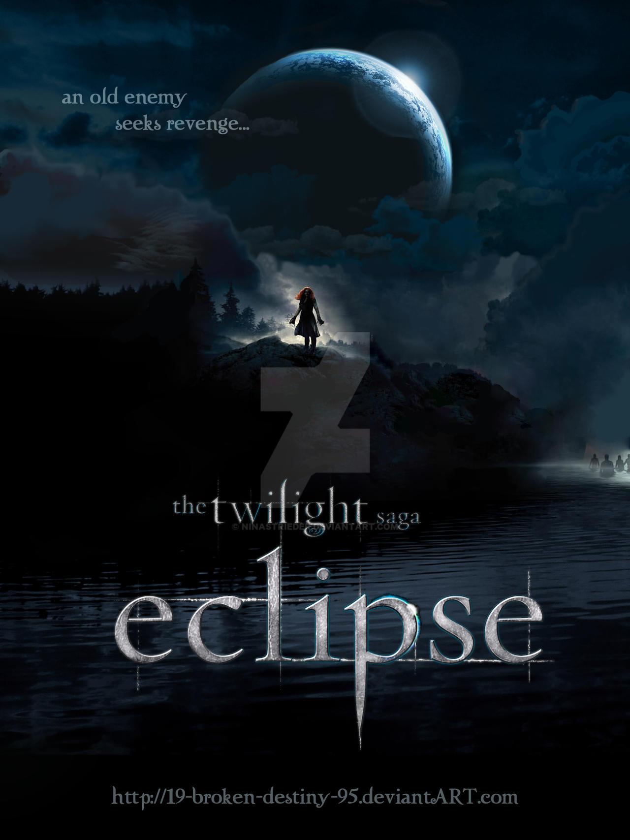 Eclipse Poster - Victoria by NinaStrieder