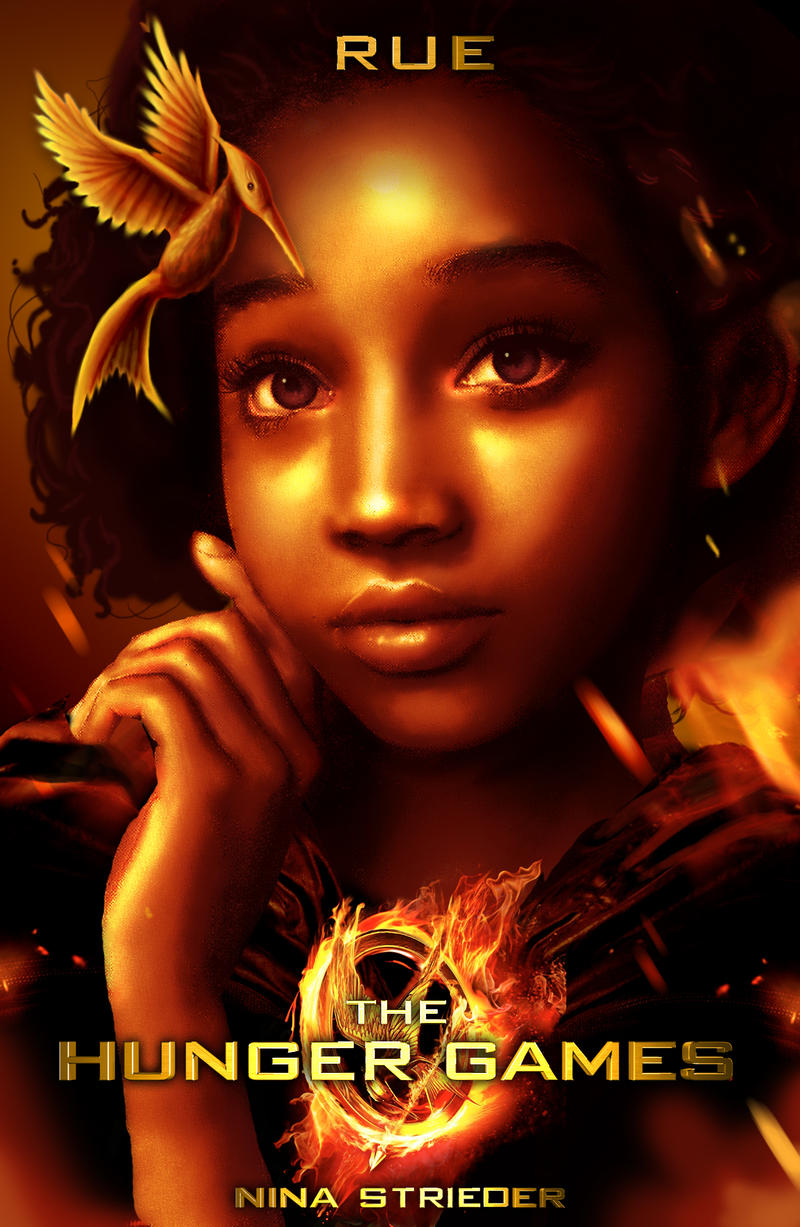 THG: RUE selfmade movie poster by NinaStrieder