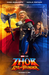 THOR: LOVE AND THUNDER - fanmade poster
