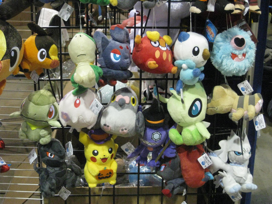 Pokemon plushies by aluress on deviantart for Life size shark plush