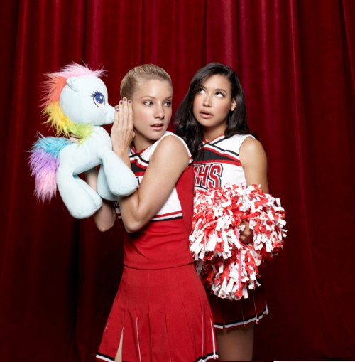Are santana and brittany dating on glee
